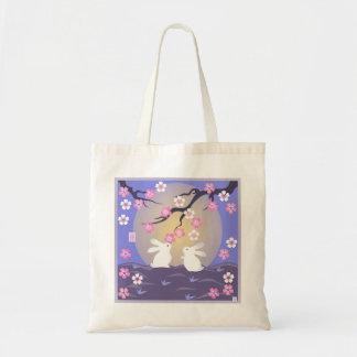 La bolsa de asas de los conejos de la luna