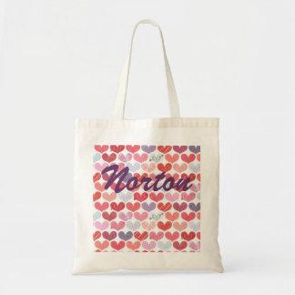 La bolsa de asas de los corazones de Norton