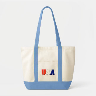 La bolsa de asas de los E.E.U.U. con el ajuste azu