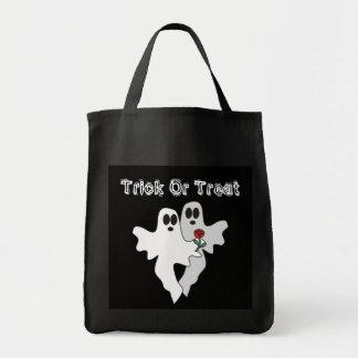La bolsa de asas de los fantasmas de Halloween