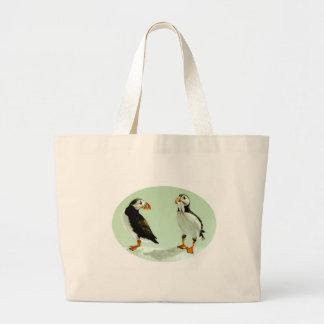 La bolsa de asas de los frailecillos