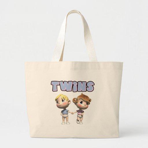 La bolsa de asas de los gemelos