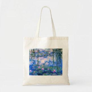 La bolsa de asas de los lirios de agua de Monet