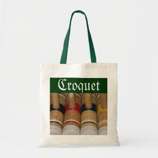 La bolsa de asas de los mazos de croquet