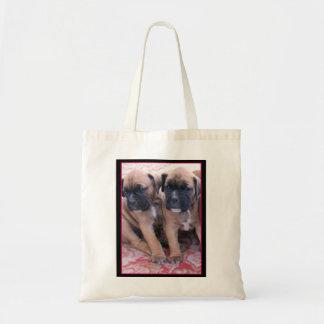 La bolsa de asas de los perritos del boxeador
