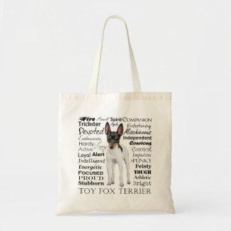 La bolsa de asas de los rasgos del fox terrier del