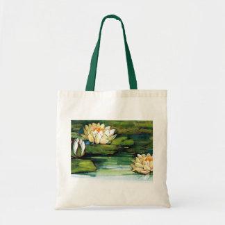 La bolsa de asas de Lotus del vintage