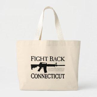 La bolsa de asas de Lucha-Detrás-Connecticut