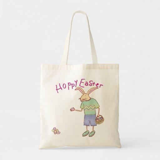 La bolsa de asas de lúpulo del conejo de Pascua