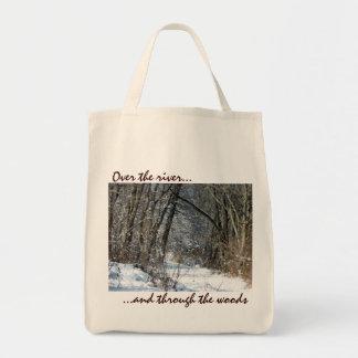 La bolsa de asas de maderas Nevado
