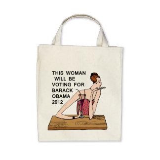 La bolsa de asas de Obama para las mujeres