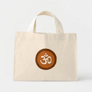 """La bolsa de asas de """"OM"""" de la yoga"""