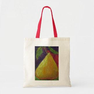 La bolsa de asas de oro de la pera