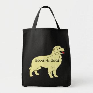 La bolsa de asas de oro de Retriver