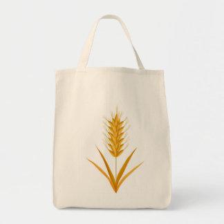 La bolsa de asas de oro del trigo