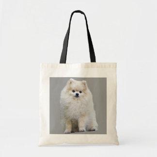 La bolsa de asas de Pomeranian