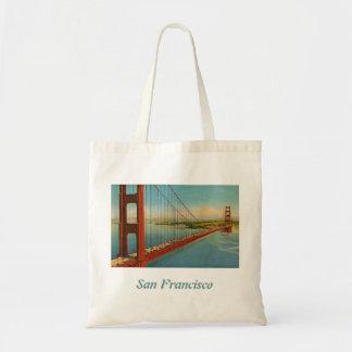 La bolsa de asas de puente Golden Gate del vintage