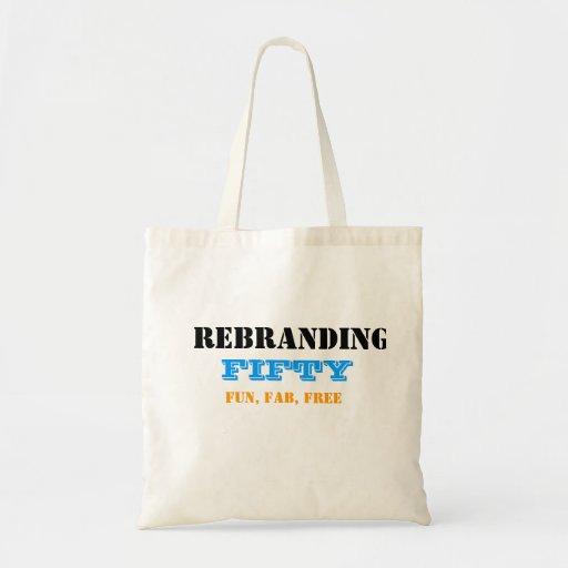 La bolsa de asas de Rebranding 50