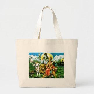 La bolsa de asas de Shiva y de Parvati