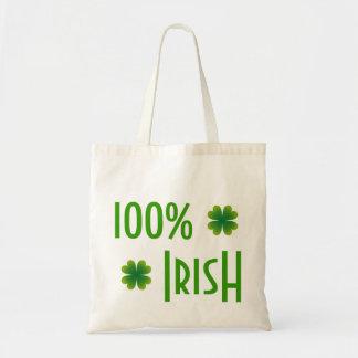 La bolsa de asas de St Patrick del irlandés del 10