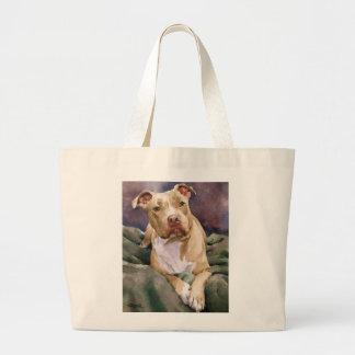 La bolsa de asas de Staffordshire Terrier