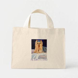 La bolsa de asas de Yorkshire Terrier