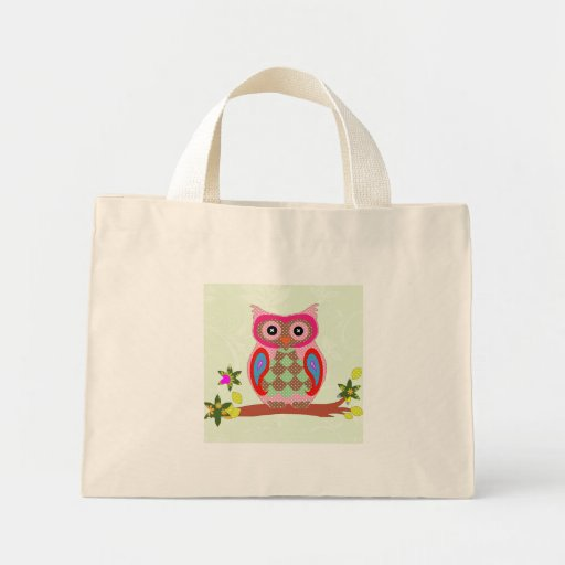 La bolsa de asas decorativa del arte colorido del