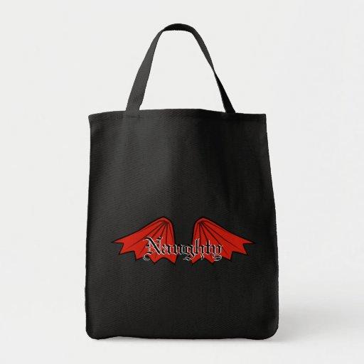 La bolsa de asas del ala del diablo