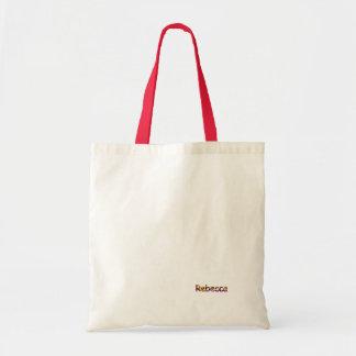 La bolsa de asas del algodón de Rebecca