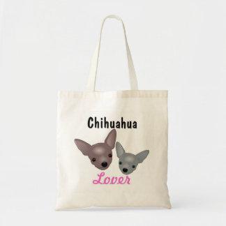 La bolsa de asas del amante de la chihuahua