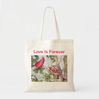 La bolsa de asas del amante del pájaro