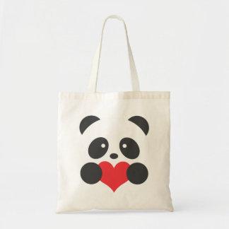 La bolsa de asas del amor de la panda