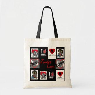 la bolsa de asas del amor del zombi