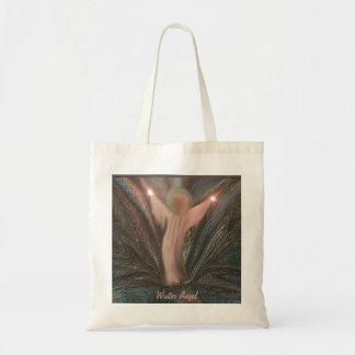 La bolsa de asas del ángel del invierno