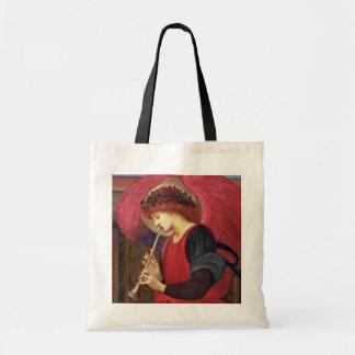 La bolsa de asas del ángel del navidad - sir