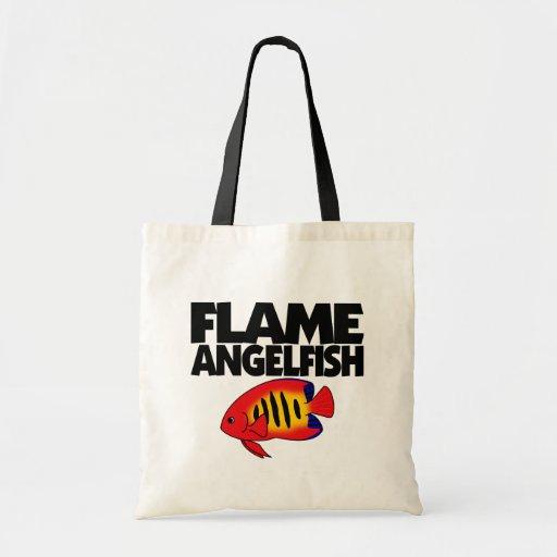 La bolsa de asas del Angelfish de la llama