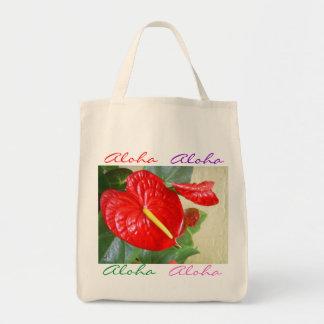 La bolsa de asas del Anthurium