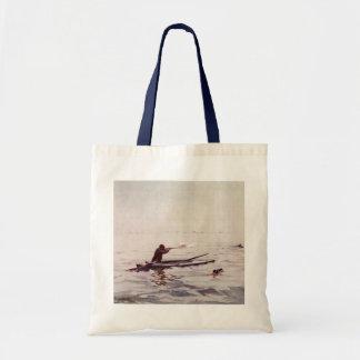 La bolsa de asas del arma del kajak del mar de la