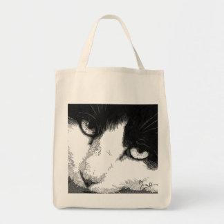 La bolsa de asas del arte del gato