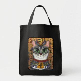 La bolsa de asas del arte del gato de Bastet del e