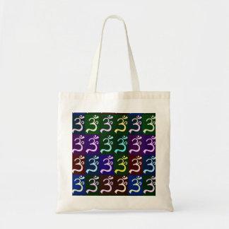 La bolsa de asas del arte pop de OM (Aum)