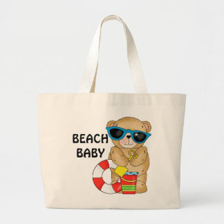 La bolsa de asas del bebé de la playa