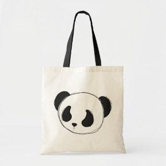 la bolsa de asas del bosquejo de la panda