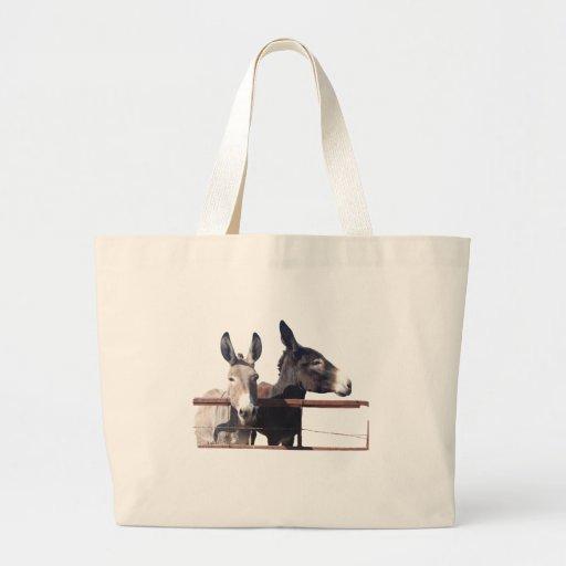La bolsa de asas del burro