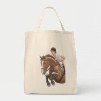 La bolsa de asas del caballo del puente