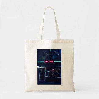 La bolsa de asas del café de Amsterdam del alto de