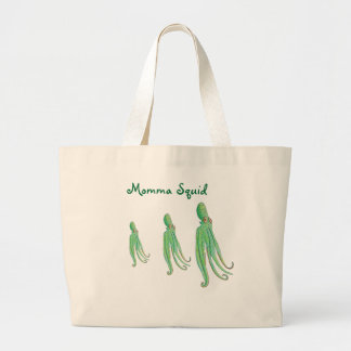 La bolsa de asas del calamar de Momma
