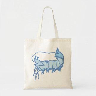 La bolsa de asas del camarón