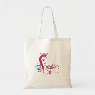 La bolsa de asas del chica de la chispa