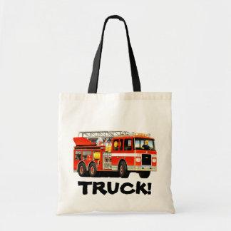 La bolsa de asas del coche de bomberos